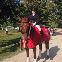 Congratulations to our FEI Junior Reserve National Champion Kristin Counterman!